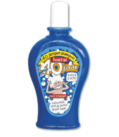 Shampoo fun 40 jaar man