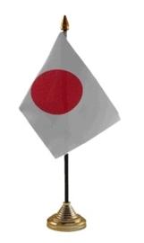 Tafelvlag Japan zwart