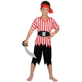 Piraten kostuum jongens