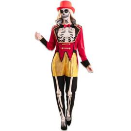 Circusartieste skelet