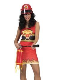 Brandweer jurkje dame