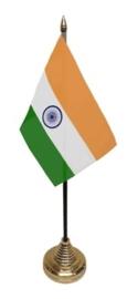 Tafelvlag India zwart