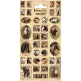 Sticker vel Horses 2