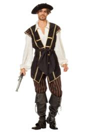 Piraat Bruinbaard deluxe