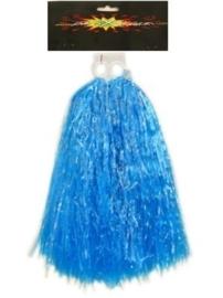 Cheerball blauw PomPom
