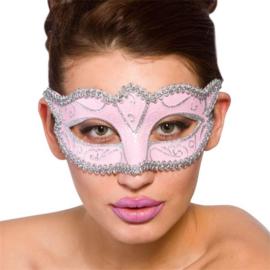 Verona oogmasker roze