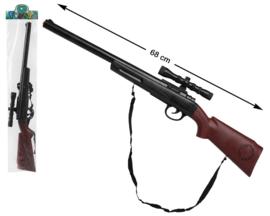 Jagers geweer met vizier | 68cm