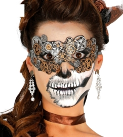 Steampunk masker vrouw