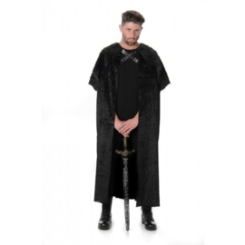 Cape game of thrones zwart