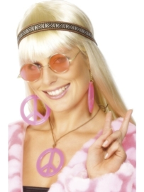 Hippie set dames deluxe