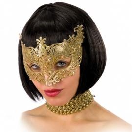 Oogmasker pretty Goud OP=OP