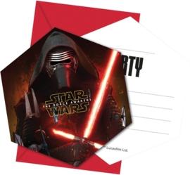 Star Wars Force uitnodigingen OP = OP
