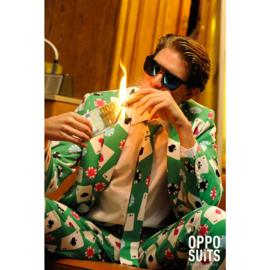 Poker face opposuits kostuum