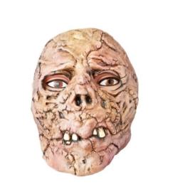 Verbrande zombie masker