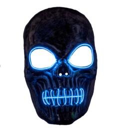 Masker skeleton met licht blauw