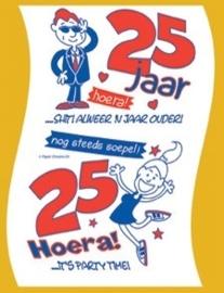 Toiletpapier - 25 jaar