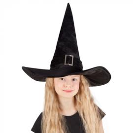 Kinderhoed Heks Kendra zwart