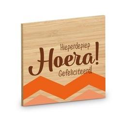 Onderzetter - Hoera