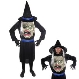 Monster met hoed kostuum