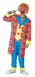 Clowns kostuum sparkling star