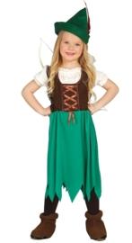 Robin hood meisjes jurk
