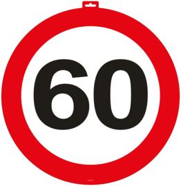 Deurbord 60 jaar