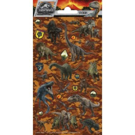 Sticker vel Jurassic World