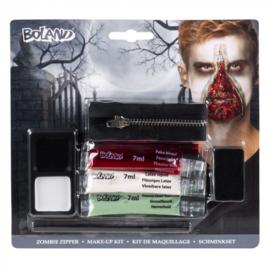 Zombie rits schmink set special