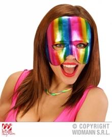 Oogmasker kinloos regenboog