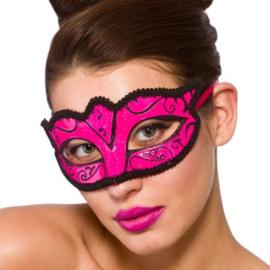 Verona oogmasker pink