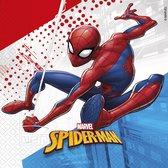 Spiderman Super Hero   Composteerbaar servetten