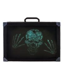Creepy koffer met licht en geluid