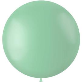Ballon Powder Pistache Mat - 78 cm