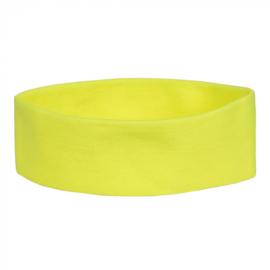 Hoofdband Retro | neon geel