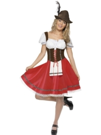 Tiroler biermeisjes jurk