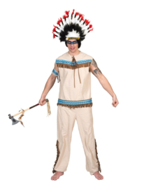 Indianen kostuum Thundering Teepee