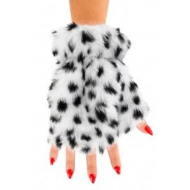 Vingerloze handschoenen pluche | dalmatier