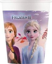 Frozen II Destiny Awaits   Composteerbaar papieren bekers