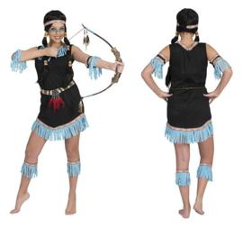 Indianen jurkje poca