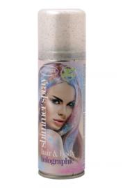 Glitterspray holographic | voor lichaam en haar | 100 ml