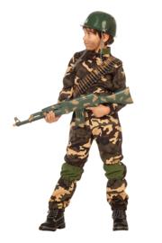 Commando jongens kostuum