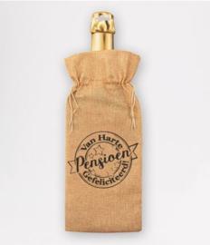 Bottle gift bag - Pensioen