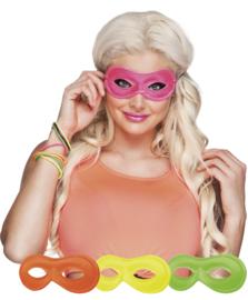 Neon oogmasker pink