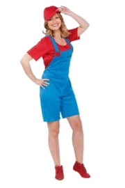Super Mario lady outfit