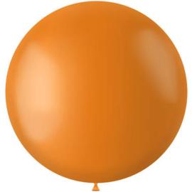 Ballon Tangerine Orange Mat - 78 cm