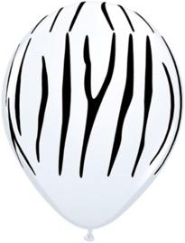 Zebraprint ballonnen