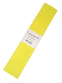 Crepe papier geel