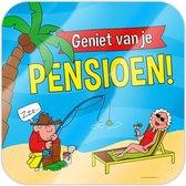 Deurbord pensioen | einde werk
