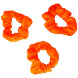 Scrunchies Oranje | 3 stuks
