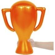 Opblaas cup Oranje